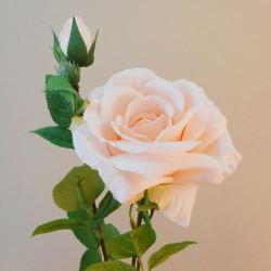Rydal Artificial Rose Spray Peach - R107 FF4