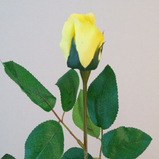 Artificial Bud Roses High Yellow - R531 L4