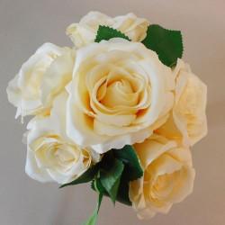 Artificial Tea Roses Bundle Lemon Yellow - R254 L2