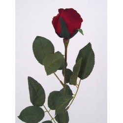 Artificial Bud Roses Red - R008a L4