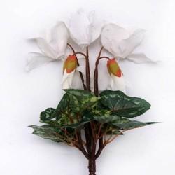 Silk Cyclamen Plants White - C014a GG2