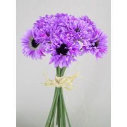 Silk Daisy Posy Lilac - D001 BX17