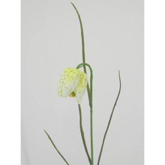 Artificial Fritillaria Cream and Pale Green - F007