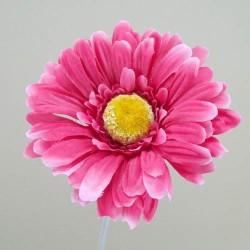 Silk Gerbera Bubblegum Pink - G014 F2