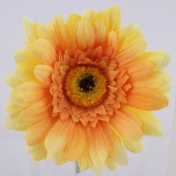 Silk Gerbera Yellow - G032 E2