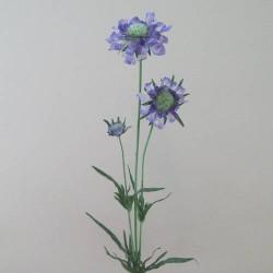 Silk Scabious Flowers Blue | Artificial Scabiosa - S058 Q2