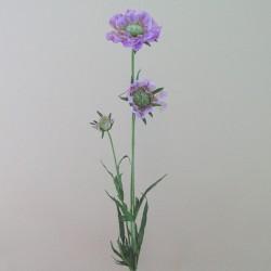 Silk Scabious Flowers Lilac | Artificial Scabiosa - S059 Q2