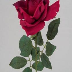 Red Silk Tea Rose - R035a O4