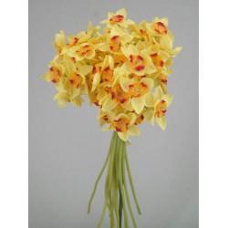 Tete a Tete Silk Daffodil Posy - D011 LL3
