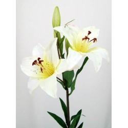 Silk Tiger Lilies Ivory - L009 H1