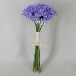 Silk Daisies Posy Blue - D089 LL2