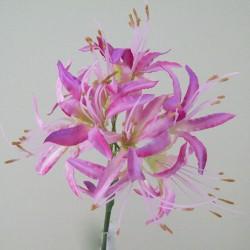 Silk Nerine Lily Vintage Pink - N006 J3