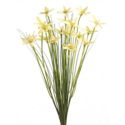 Artificial Star Flowers with Grass Yellow - S093 Q3