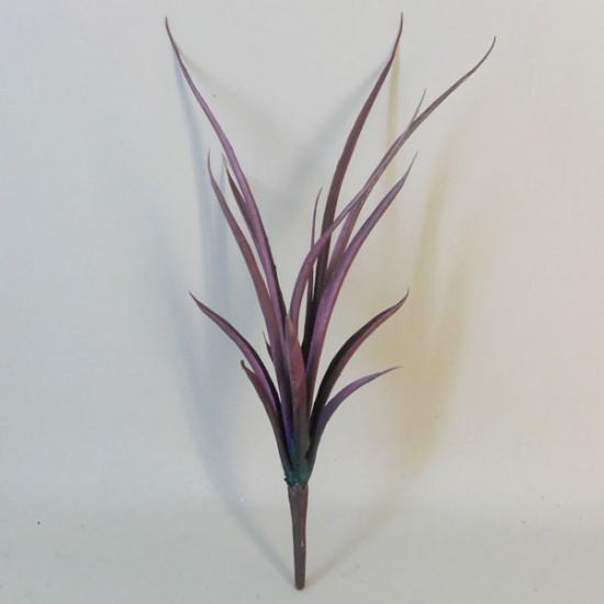 Artificial Aloe Spray Purple 39cm - ALO002 EE1