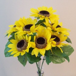 Artificial Sunflowers Bouquet - S106 BX6