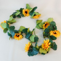 Sunflower Garland - S005a O2