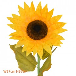 Giant Supersized Artificial Sunflower | VM Display Prop - S117