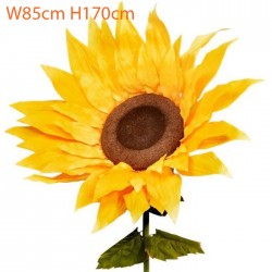 Giant Supersized Artificial Sunflower 170cm | VM Display Prop - S133 DD3