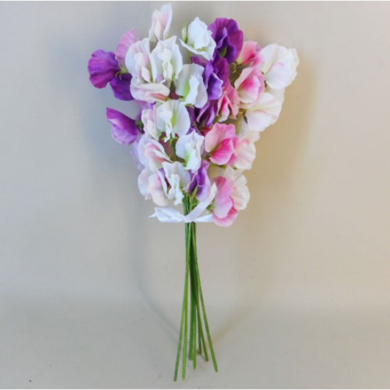 Artificial Sweet Peas Posy - S009 Q2