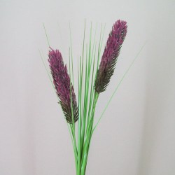 Artificial Teasels with Grasses Dusky Pink - T043 R3