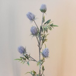 Artificial Thistles Lavender Grey - T014