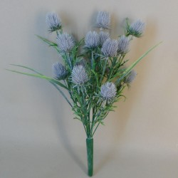 Artificial Thistles Plant Lavender Grey - T042 S2