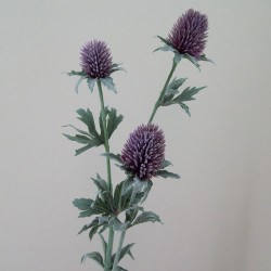 Artificial Thistles Purple - T049