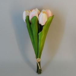 Artificial Tulip Bunch Pink - T069 Q2