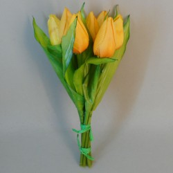 Artificial Tulips Bouquet Yellow - T024 Q3
