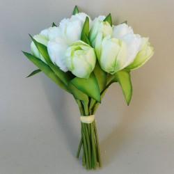 Artificial Tulips Bundle Cream Green - T015 R3