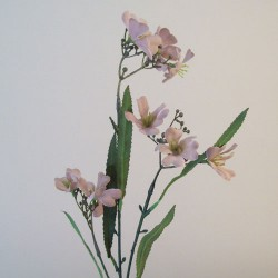 Artificial Tweedia Flowers Downton Nude - T087 BX15