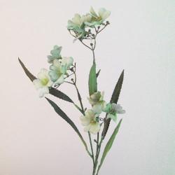 Artificial Tweedia Flowers Downton Soft Green - T094 T3