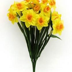 Two Tone Daffodil Bunch - D002