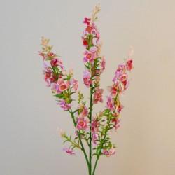 Artificial Verbascum Pink 75cm - C144 D3