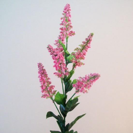 Artificial Veronica Cottage Garden Flowers Pink - V018 O3