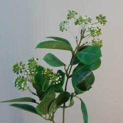 Artificial Viburnum Berries Spray White - V007
