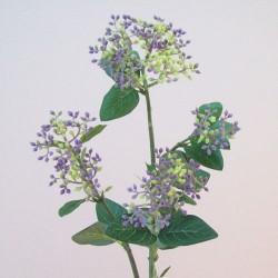 Artificial Viburnum Buds Purple Green - V031 R4
