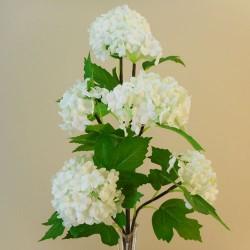 Silk Viburnum | Snowball Flowers Ivory - V003 AA2