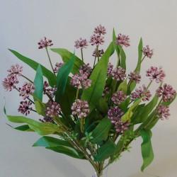 Mini Viburnum Buds Bouquet Purple - V035