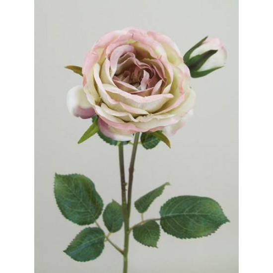 Artificial Vintage Roses Pink - R076 O3