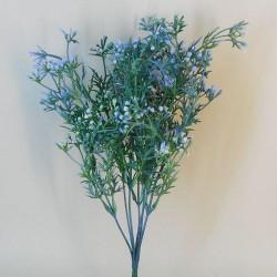 Artificial Wax Flowers Buds Blue - WAX004 T3