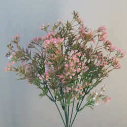 Artificial Wax Flowers Buds Coral Pink - WAX002 Q4