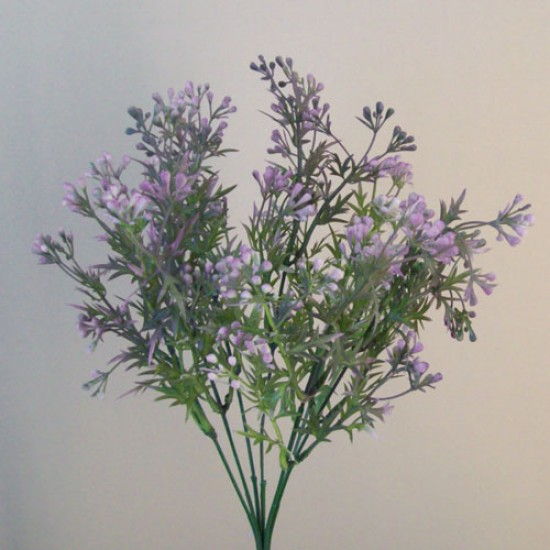 Artificial Wax Flowers Buds Lavender Purple - WAX003 Q4