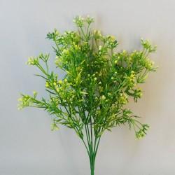 Artificial Wax Flowers Buds Yellow - WAX005 Q4