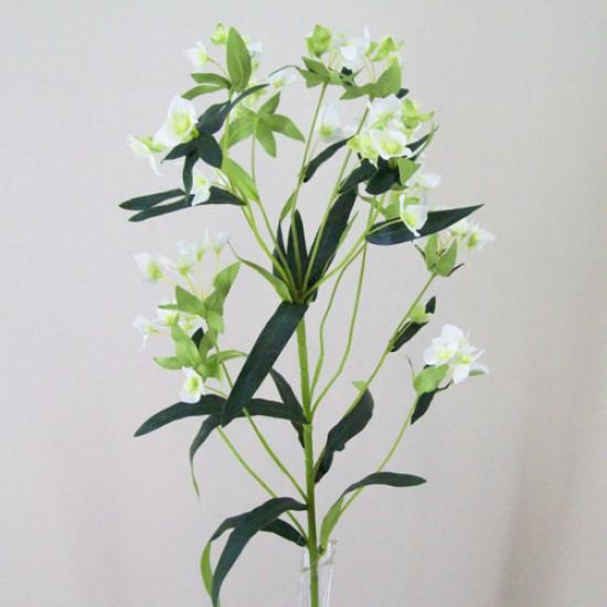 Artificial Wax Flowers Cream - W025 S2