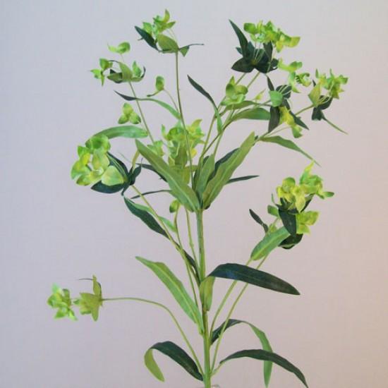 Artificial Wax Flowers Green - W012 S2