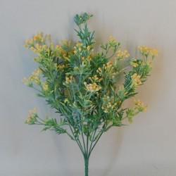 Artificial Wax Flowers Buds Golden Yellow - WAX006 Q4