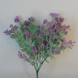 Artificial Wax Flowers Buds Pink Purple - WAX007 R4