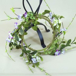 Wild Blossom Wreath or Candle Ring Lilac Small - MF401-176 BX4