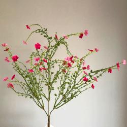Artificial Wild Flowers Spray Pink - W051 V